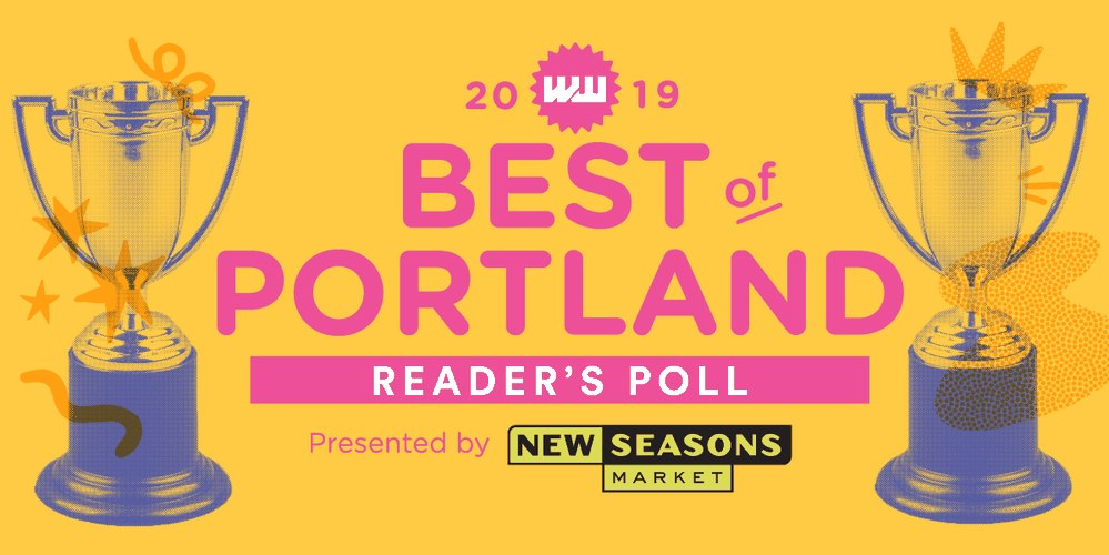 Thanks, Portland! Two Years running we've been chosen 'best children's store' in Portland.