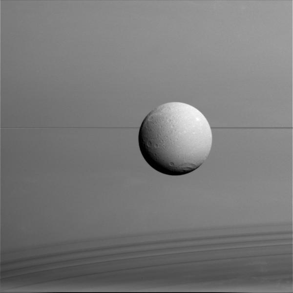Saturn's moon Dione