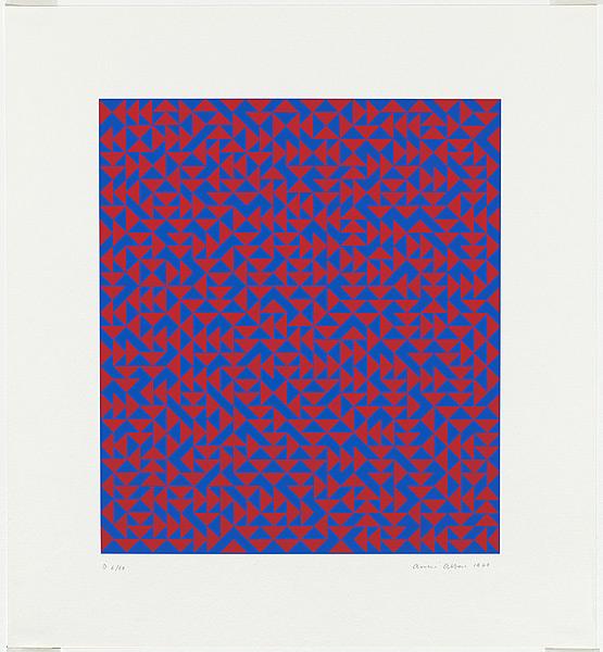 Anni Albers, Untitledscreenprint, 1969