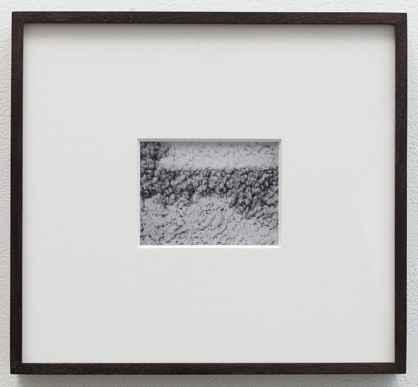 A Footnote , 2019  2.875 x 3.75 inches  Black and white instant film