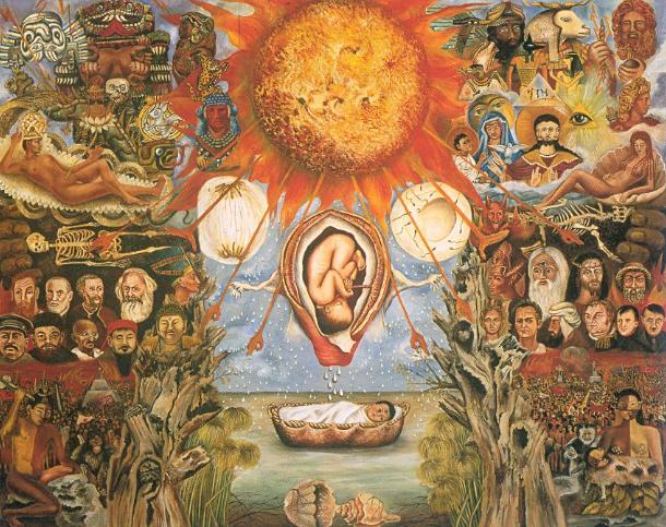Mose O Nucleo Solare  by Frida Kahlo
