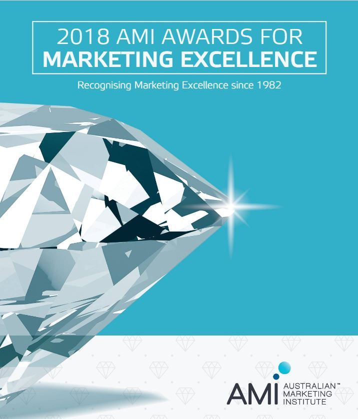 2018 AMI Awards for Marketing Excellence National Finalist -