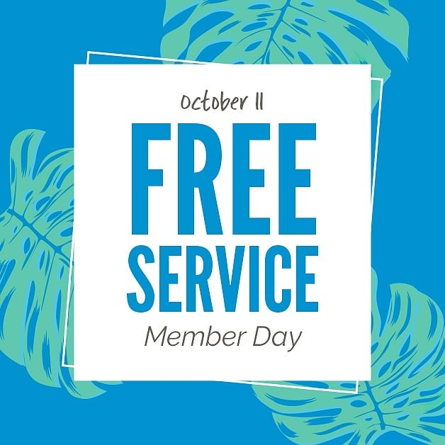 IT'S HERE! One of our favorite days of the year … Member appreciation day! All members get 1 free session in any Sunbed, Spray Tan, Red Light, Infrared or LED Light Therapy TODAY ONLY! Hurry in to your favorite Seattle Sun Tan or Seattle Sun Light Spa to redeem today!  No membership? No problem! Join today for only $5.99. PLUS click on the link in our bio to see all the special deals for EVERYONE! Today, October 11th ONLY!