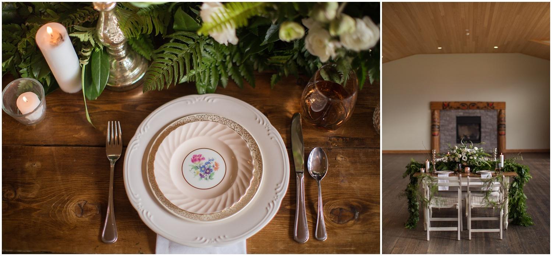 Amazing Day Photography - Fraser River Lodge Styled Session - Woodland Wedding - Green Tones - Green and White Wedding - Blush Wedding Dress - Morilee Wedding Dress - BC Wedding (14).jpg