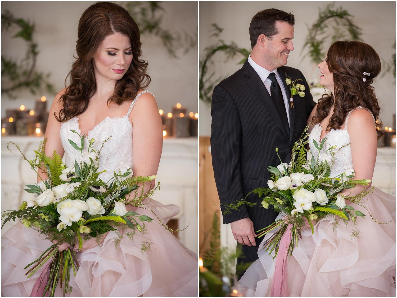 Amazing Day Photography - Fraser River Lodge Styled Session - Woodland Wedding - Green Tones - Green and White Wedding - Blush Wedding Dress - Morilee Wedding Dress - BC Wedding (28).jpg