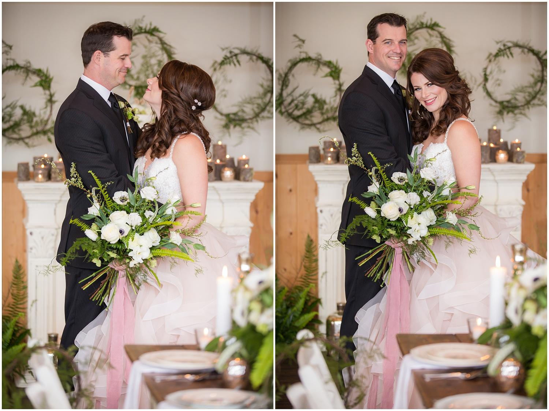 Amazing Day Photography - Fraser River Lodge Styled Session - Woodland Wedding - Green Tones - Green and White Wedding - Blush Wedding Dress - Morilee Wedding Dress - BC Wedding (29).jpg
