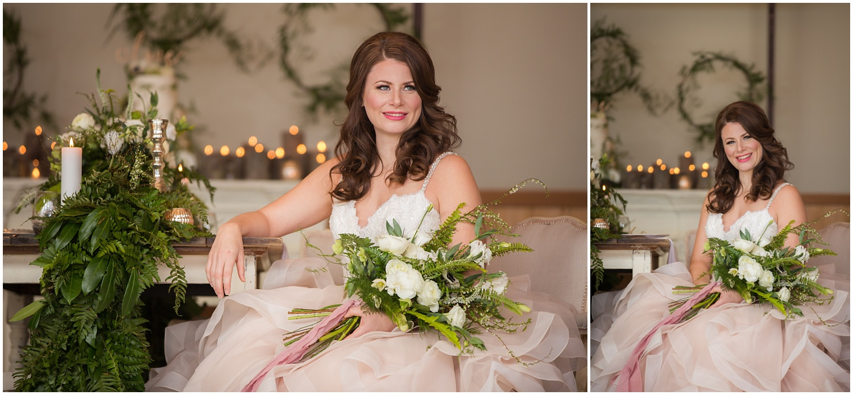 Amazing Day Photography - Fraser River Lodge Styled Session - Woodland Wedding - Green Tones - Green and White Wedding - Blush Wedding Dress - Morilee Wedding Dress - BC Wedding (34).jpg
