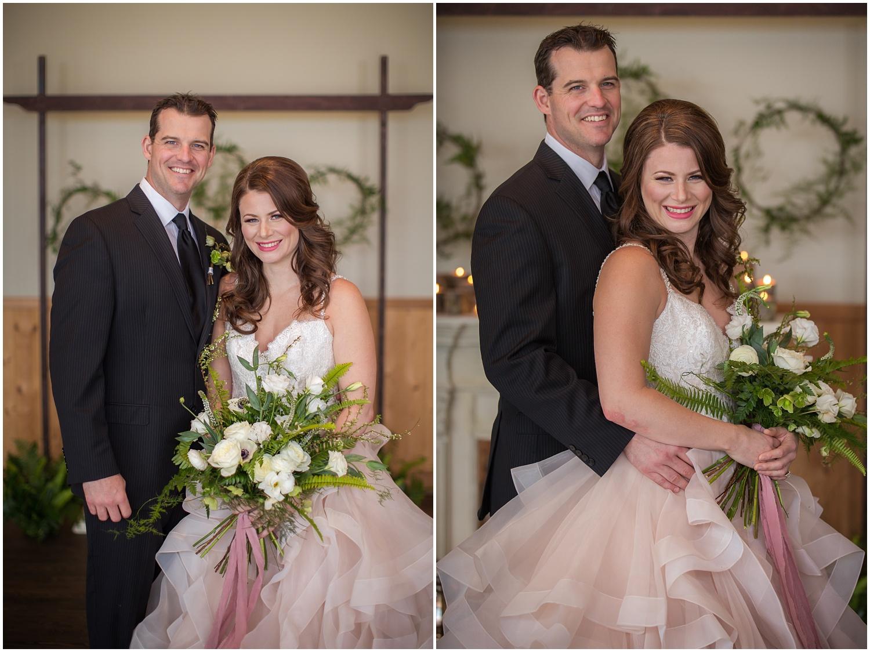 Amazing Day Photography - Fraser River Lodge Styled Session - Woodland Wedding - Green Tones - Green and White Wedding - Blush Wedding Dress - Morilee Wedding Dress - BC Wedding (41).jpg