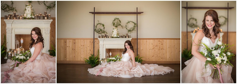Amazing Day Photography - Fraser River Lodge Styled Session - Woodland Wedding - Green Tones - Green and White Wedding - Blush Wedding Dress - Morilee Wedding Dress - BC Wedding (42).jpg