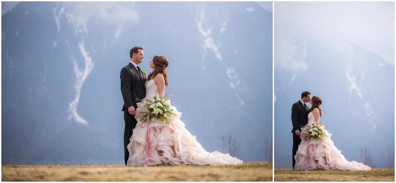 Amazing Day Photography - Fraser River Lodge Styled Session - Woodland Wedding - Green Tones - Green and White Wedding - Blush Wedding Dress - Morilee Wedding Dress - BC Wedding (44).jpg