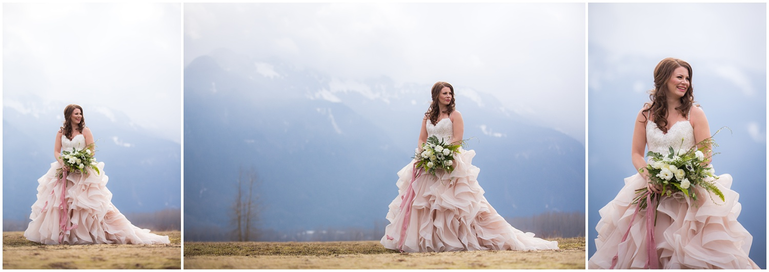 Amazing Day Photography - Fraser River Lodge Styled Session - Woodland Wedding - Green Tones - Green and White Wedding - Blush Wedding Dress - Morilee Wedding Dress - BC Wedding (47).jpg
