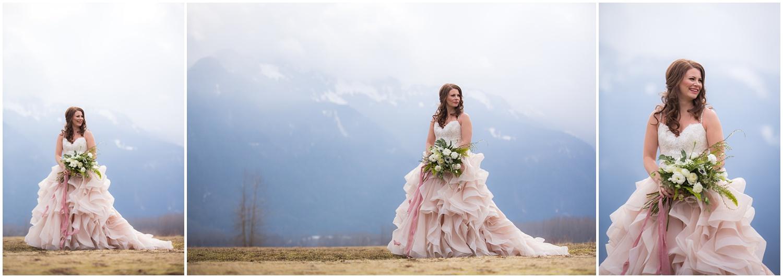 Amazing Day Photography - Fraser River Lodge Styled Session - Woodland Wedding - Green Tones - Green and White Wedding - Blush Wedding Dress - Morilee Wedding Dress - BC Wedding (47).jpg