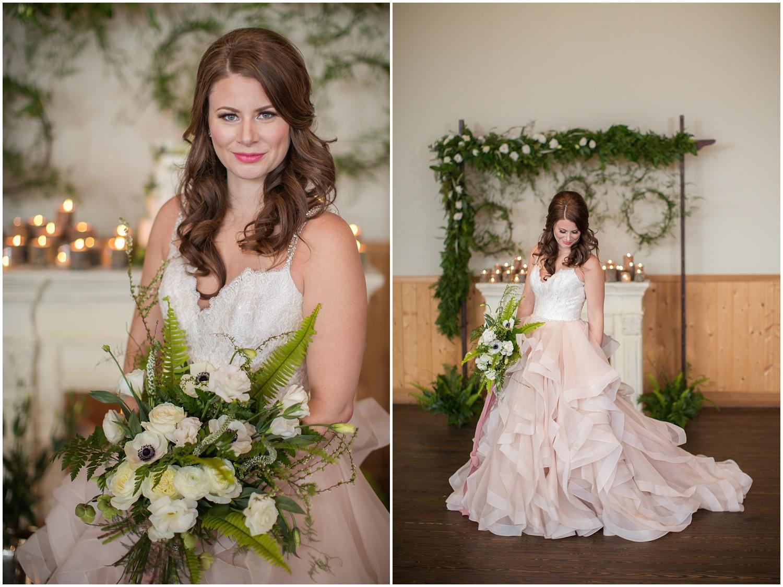 Amazing Day Photography - Fraser River Lodge Styled Session - Woodland Wedding - Green Tones - Green and White Wedding - Blush Wedding Dress - Morilee Wedding Dress - BC Wedding (52).jpg