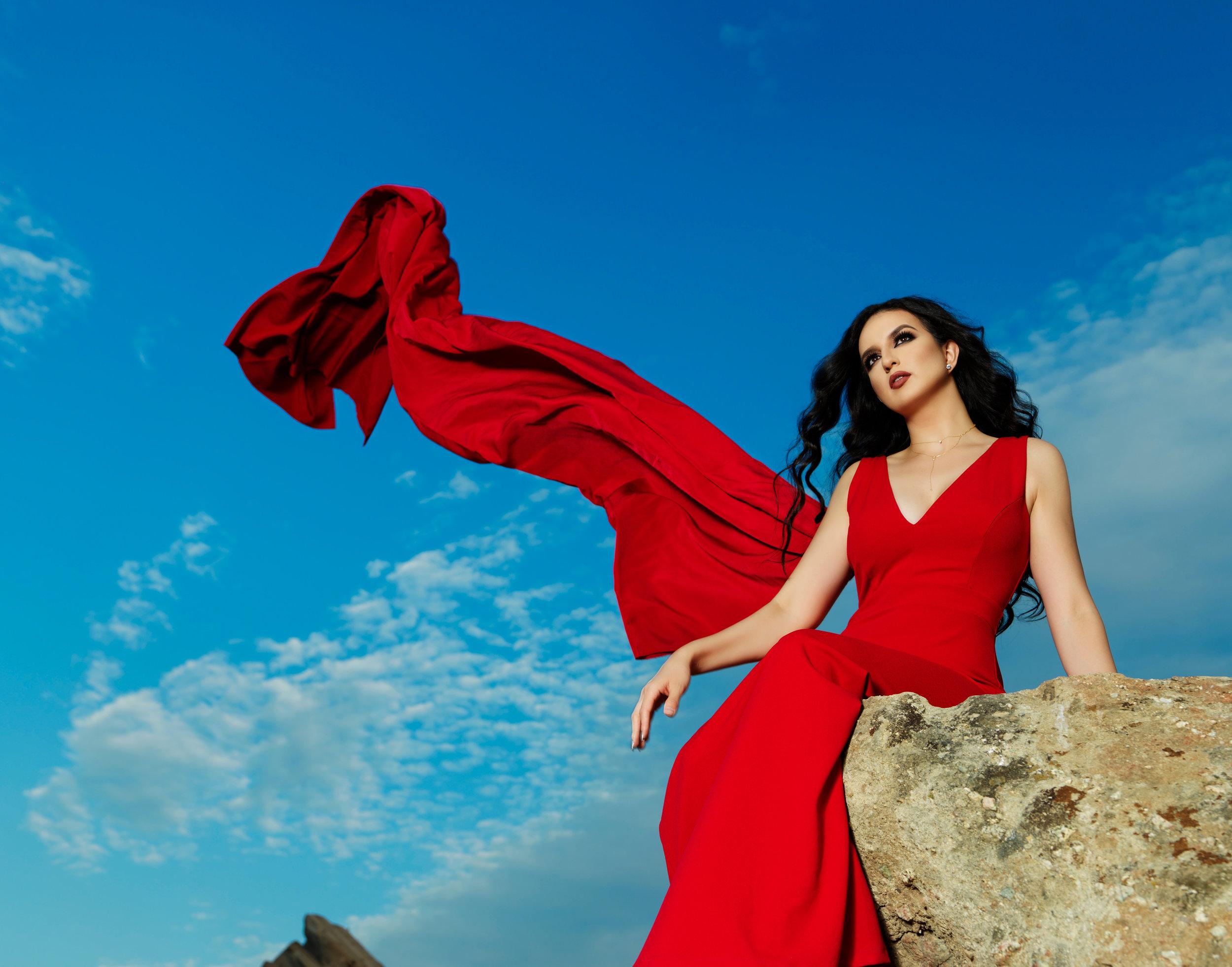 Vasquez Rocks Fashionscape