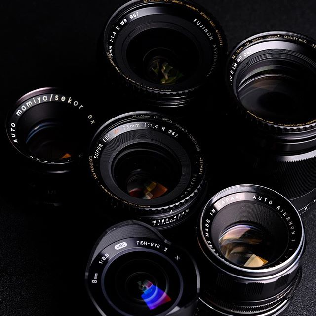 #glass.  _ What's your favorite lens to work with? _ #thebroketographers #photography #lenses #fujifilm #mamiya #fuji #canon #nikon #Leica #sonyalpha #sigma #tamron #rokinon #ricoh