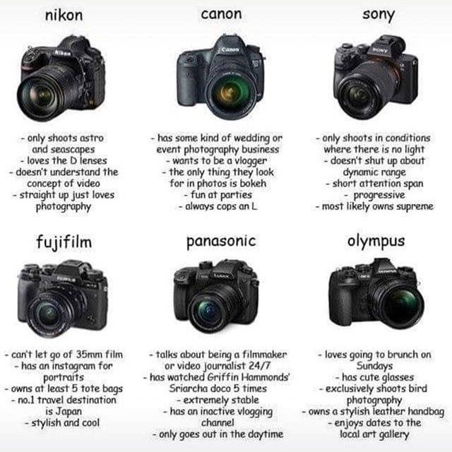 There's some truth here... 🤔😂 Which one are you? _ #thebroketographers #broketographer #photographer #photoshoot #photography #model #modeling #fashion #portrait #strobist #canon #5dmarkiv #nofilter #broketography #adobe #photoshop #lightroom #canonusa #teamcanon #nikon #teamnikon #memes #photographymemes