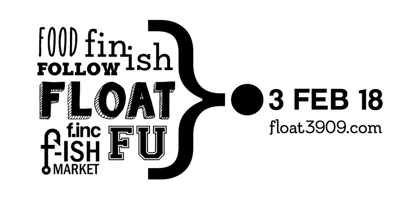 FLOAT/3FEB SATURDAY 3 FEBRUARY 2018 @ LAKE TYERS   FLOAT  [WELCOME] FOLLOW-ME  [WALK*] FIN-ISH  [EXHIBITION] [OPENING*] FU COMMUNIVERSITY [PITCH] FLOAT [VESSEL] F-ISH [MARKET] FOOD [DINNER]   * REGISTER NOW* FOR  FREE EVENTS [WALK & EXHIBITION] ON  EVENTBRITE    _________________________________________________ _________________________________________________   FLOAT/3FEB IN DETAIL  _________________________________________________   FLOAT [WELCOME] [6AM]  _________________________________________________  FOLLOW-ME [WALK*] [7AM]  Head off on a dawn walk - from the shores of Lake Tyers to the famous, curious, and enigmatic Lake Tyers House.   *REGISTRATION ESSENTIAL FOR  WALK . NUMBERS ARE LIMITED.  _________________________________________________  FLOAT BREAKFAST @ LAKE TYERS HOUSE [8.30AM]  Local muesli, local fruit, yoghurt, fruitful cakes, tea and coffee.   _________________________________________________  FIN-ISH [EXHIBITION*] @ LAKE TYERS HOUSE] [9AM]  FIN-ISH the culmination of the year's adventures, showcasing the work of 60+ artists & nature lovers, at Lake Tyers House.  *REGISTRATION ESSENTIAL FOR  EXHIBITION . NUMBERS ARE LIMITED.  _________________________________________________  FU COMMUNIVERSITY @ LAKE TYERS HOUSE [11.30AM]  Share ideas for a Lake Tyers COMMUNIVERSITY   _________________________________________________  FLOAT [VESSEL] FISHERMAN'S LANDING [2PM – 3.30PM]  Head to Fisherman's Landing to visit the FLOAT vessel and meet our FLOAT design & build team and Artist in Residence.   _________________________________________________  EN ROUTE  FLOAT INFO @ LAKE TYERS BEACH HALL  TIMBER WOLF - WOOD WORKSHOP @ ONEONTA   FAB NEW GALLERY @ LTB GENERAL STORE  __________________________________________________   F-ISH [MARKET] & FOOD 4PM - TWILIGHT    And FINALLY head to Skidale Reserve (adjacent to Tavern car park) for a FLOAT-ISH gathering. Artists & Makers on show. Bring a rug, yak with us, learn a new skill, be inspired. EAT.   __________________________________________________   * REGISTER NOW* FOR  FREE EVENTS [WALK & EXHIBITION] ON  EVENTBRITE