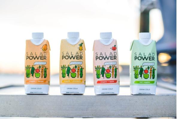 The SaladPower Product Range .