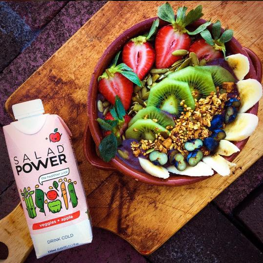SaladPower. Photo by @gianna_ciaramello