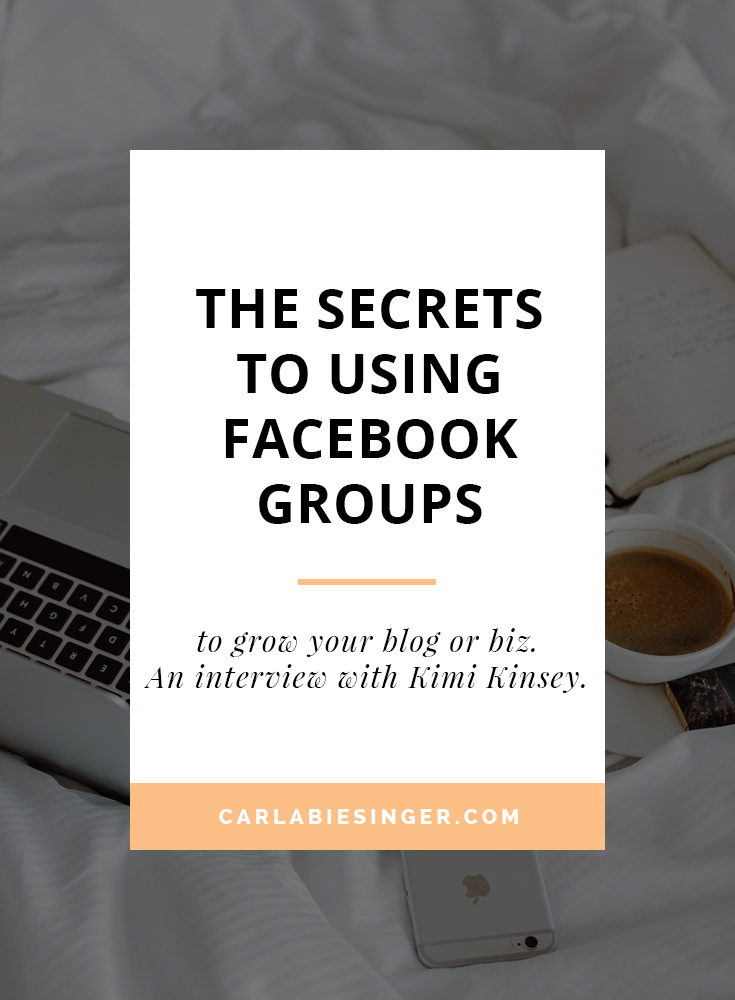 Facebook Groups: how to use them to grow your blog or business. #Bloggingtips #businesstips #facebooktips