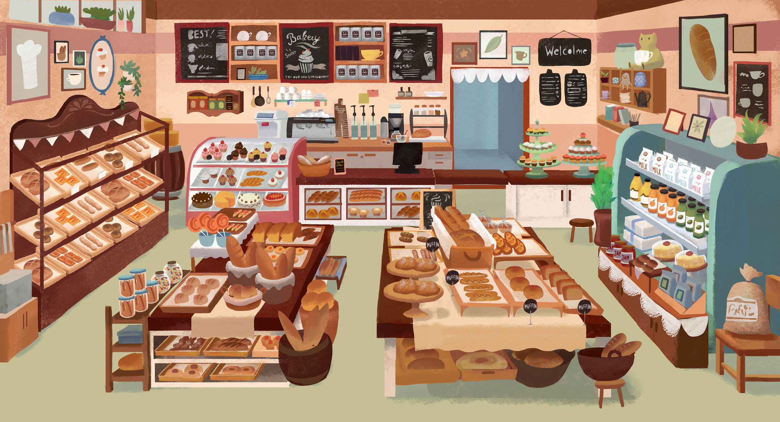 Bakery shop_full view