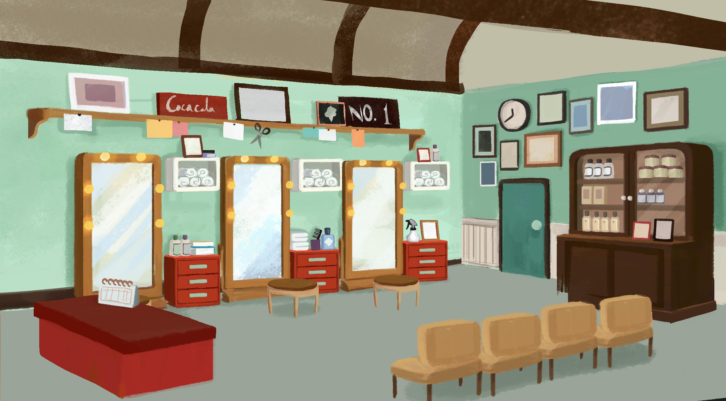 Barber Shop_Interior_ Concept 02