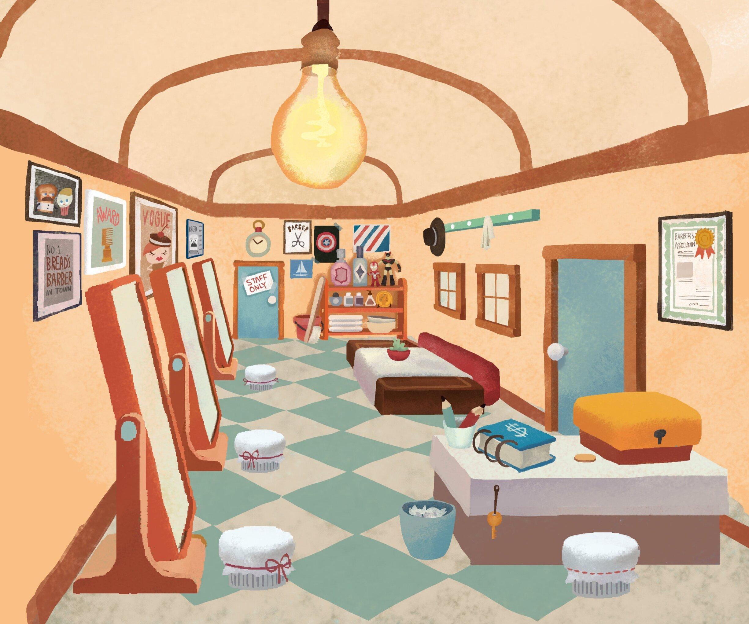 Barber Shop_Interior_Concept 01