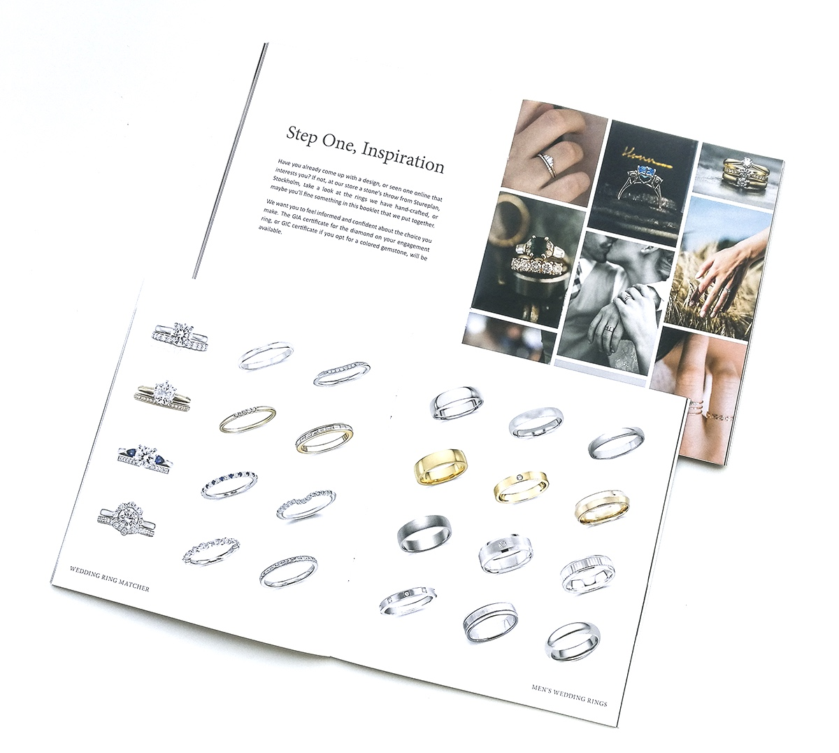 Pages from our hand-curated inspiration and information catalogue