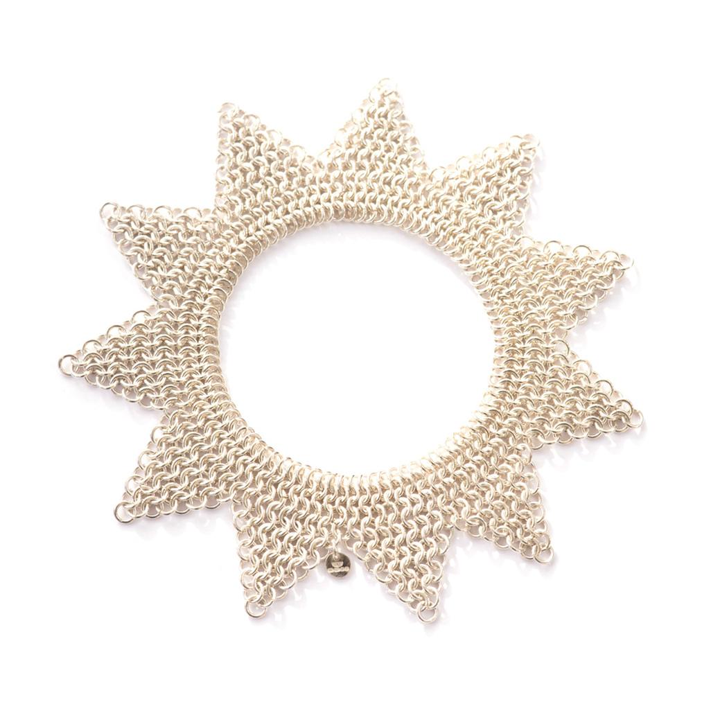 Silver Jester Bracelet