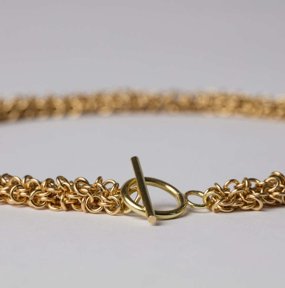 18ct Gold Link Necklace