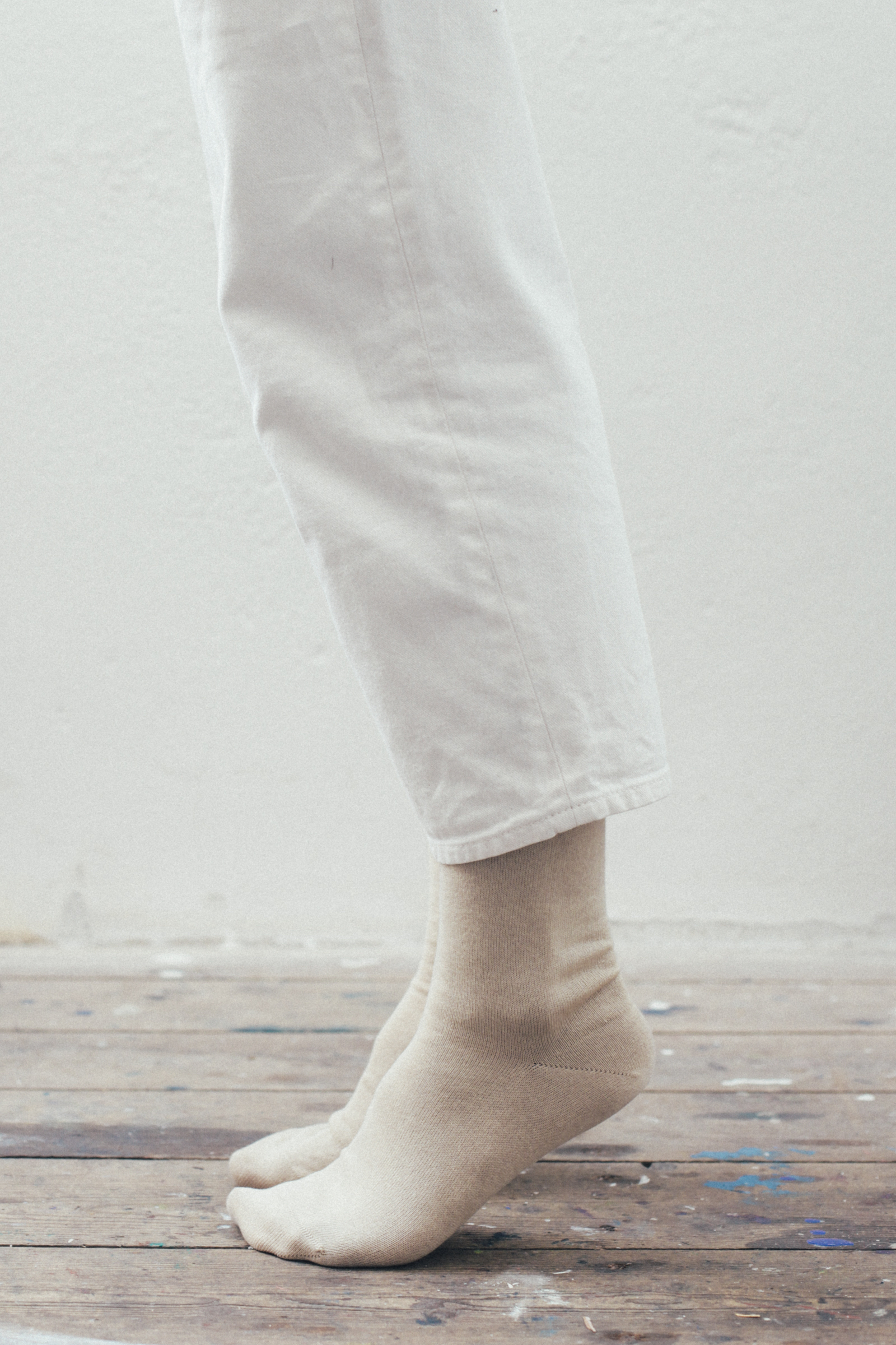 A Woven Plane – oatmeal socks for women – daily rituals blog