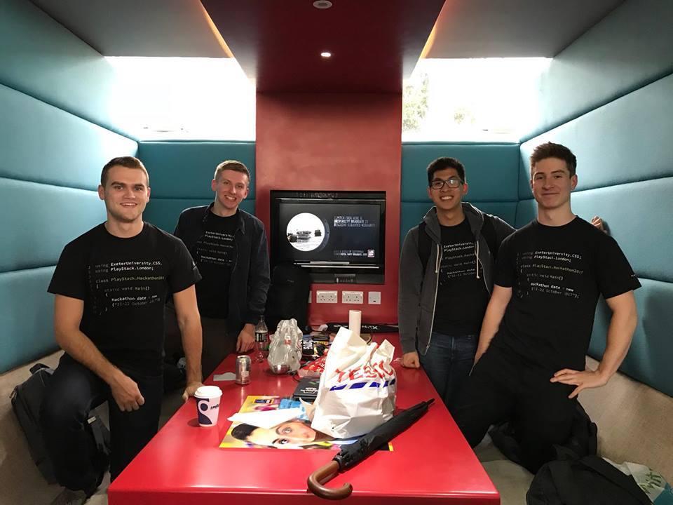 Team Firewall - The winners of the Hackathon