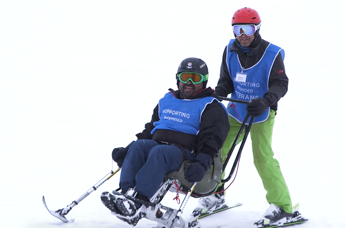 Supporting Wounded Veterans,  Ski Week challenge