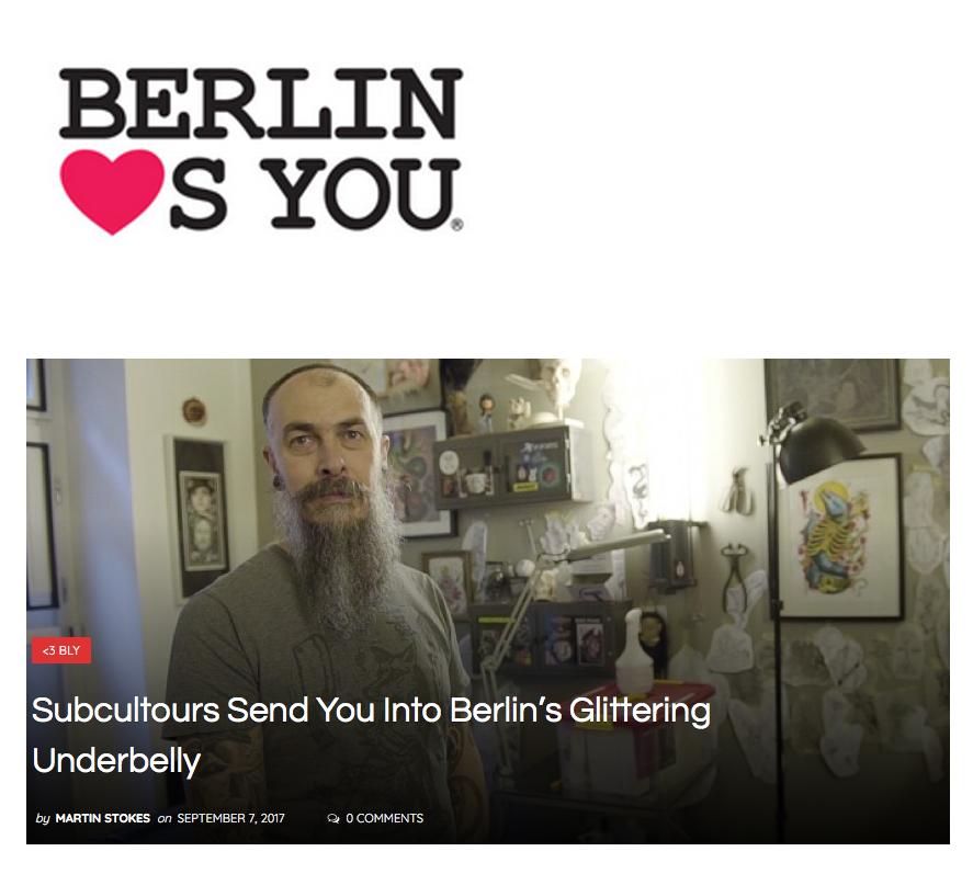 BERLIN LOVES YOU September 2017
