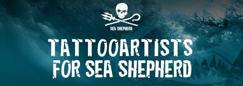 tattooartists for Sea Shepherd berlin 2018