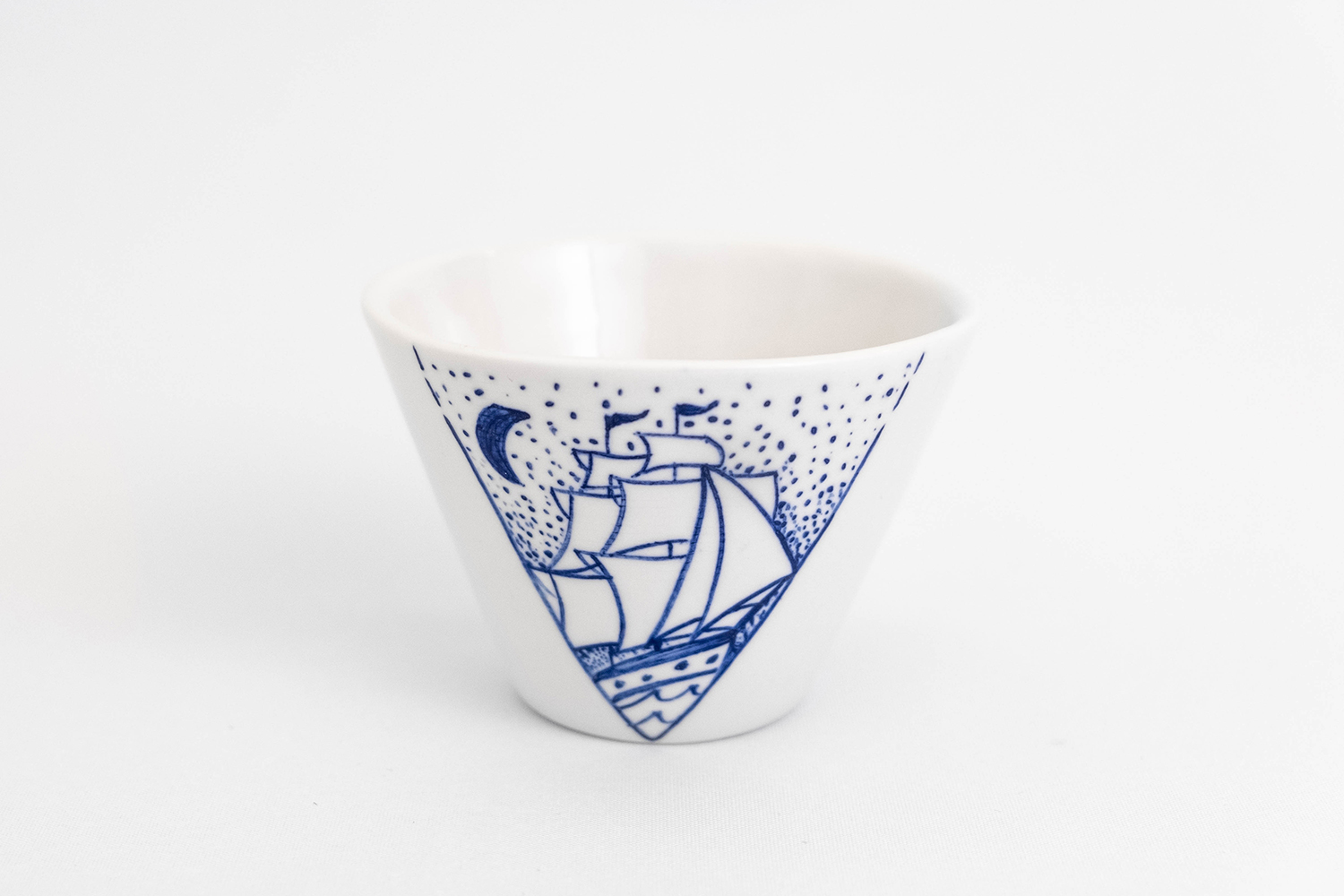 espresso coffee cup japanese tea pot blue white porcelain small bowl handmade hand painted Berlin art style Antikapratika.jpg