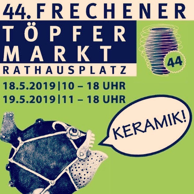 This week end we are here !!!! Come to visit us -Sat 18 & Sun 19- at #keramikmarkt in Frechen -close to @koeln_de . #keramik  #porzellan  #keramiker  #töpfermarkt  #colognecity  #colognegermany  #immcologne  #colognegay  #gaycologne  #tattooedporcelain  #kölnbloggt  #kölnliebe  #kölncity  #kölnstagram  #geschirr  #porzellanliebe  #madeingermany  #handgemacht  #keramikdesign  #heuteinköln  #schönerwohnen  #keramikatalas  @keramion  @koeln_de  @visit_koeln  @keramik.magazin  @schoenerwohnenmagazin