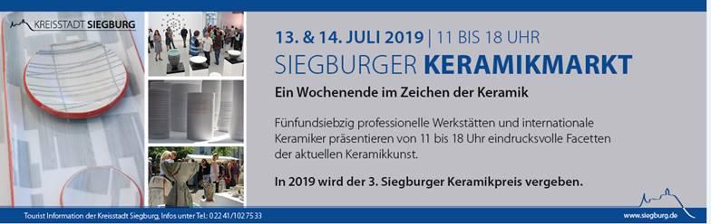 Siegburg Keramik Markt Antikapratika July 2019