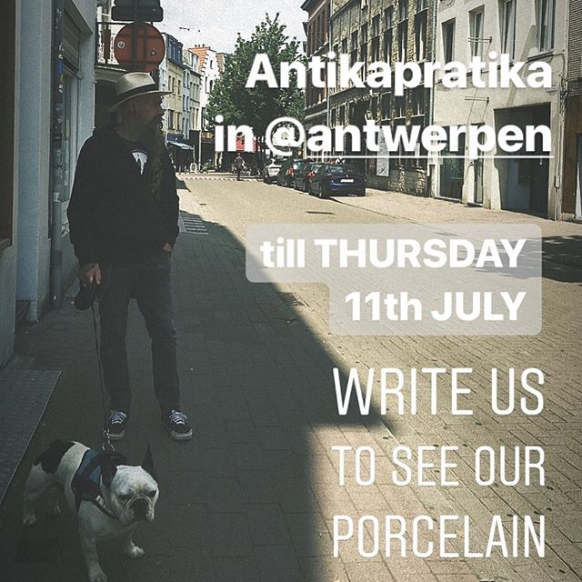 We're visiting the beautiful city of @antwerpen . If you have a shop or gallery and interested in our porcelain, get in touch ;) .  #antwerp  #antwerpen  #antwerpen🇧🇪 #antwerpencity  #antwerpenzuid  #antwerpenproeft  #antwerpenloopt  #antwerpfashiondepartment  #antwerpenstad  #visitantwerpen  #kloosterstraat_antwerpen  #kloosterstraat  #designantwerp  #antikapratika  #tattooedporcelain  #porselain