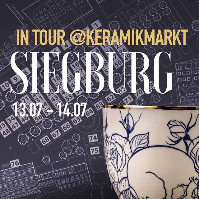 Heute und Morgen Wir sind in #siegburgcity  11:00 bis 18:00 . #siegburg  #keramiker  #keramikmarkt  #madeindeutschland  #madebyhand  #porzellan  #tätowiert  #tattooedporcelain  #siegburgtattoo  #bonnstagram  #keramika  #deutschemanufakturen  #love_ceramic  #porzellanliebe  #antikapratika
