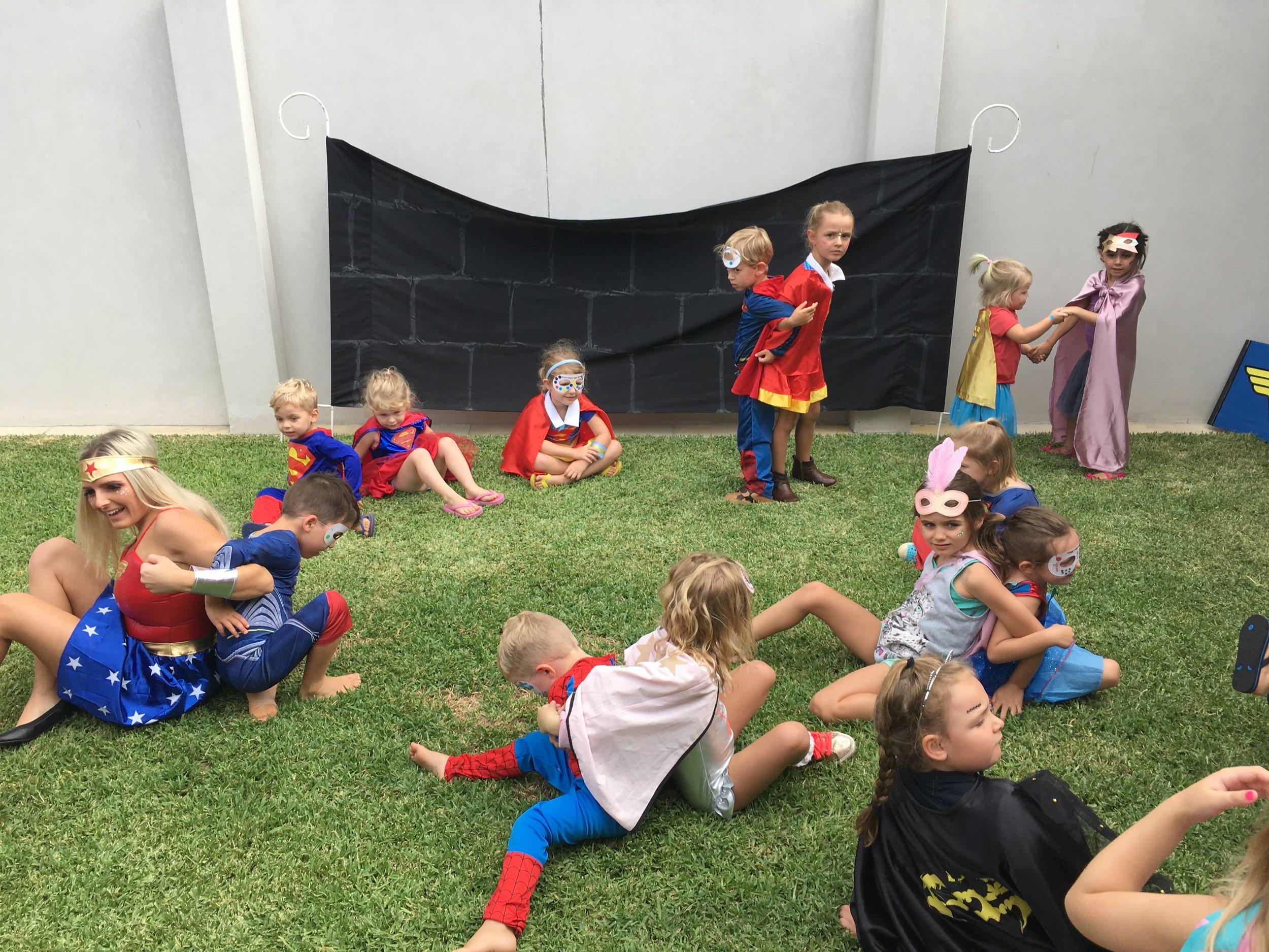 Superhero Party Games