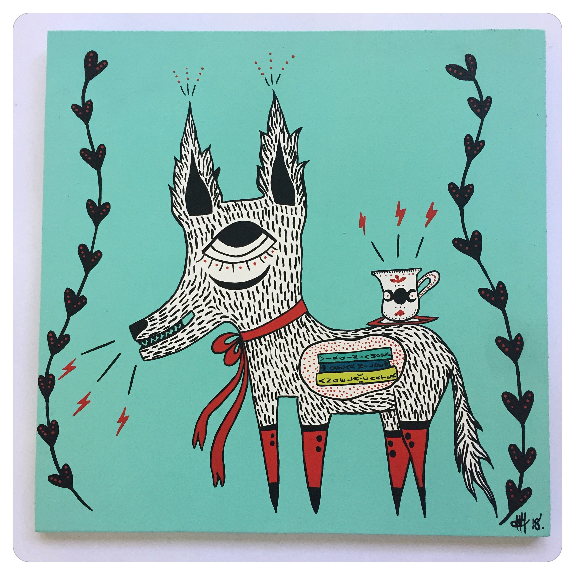 'The Story-Telling Wolf'