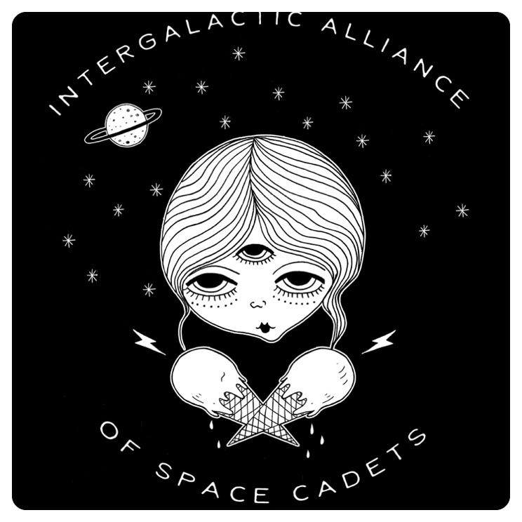 T-shirt design #3 for Space Bars Vegan Ice Cream