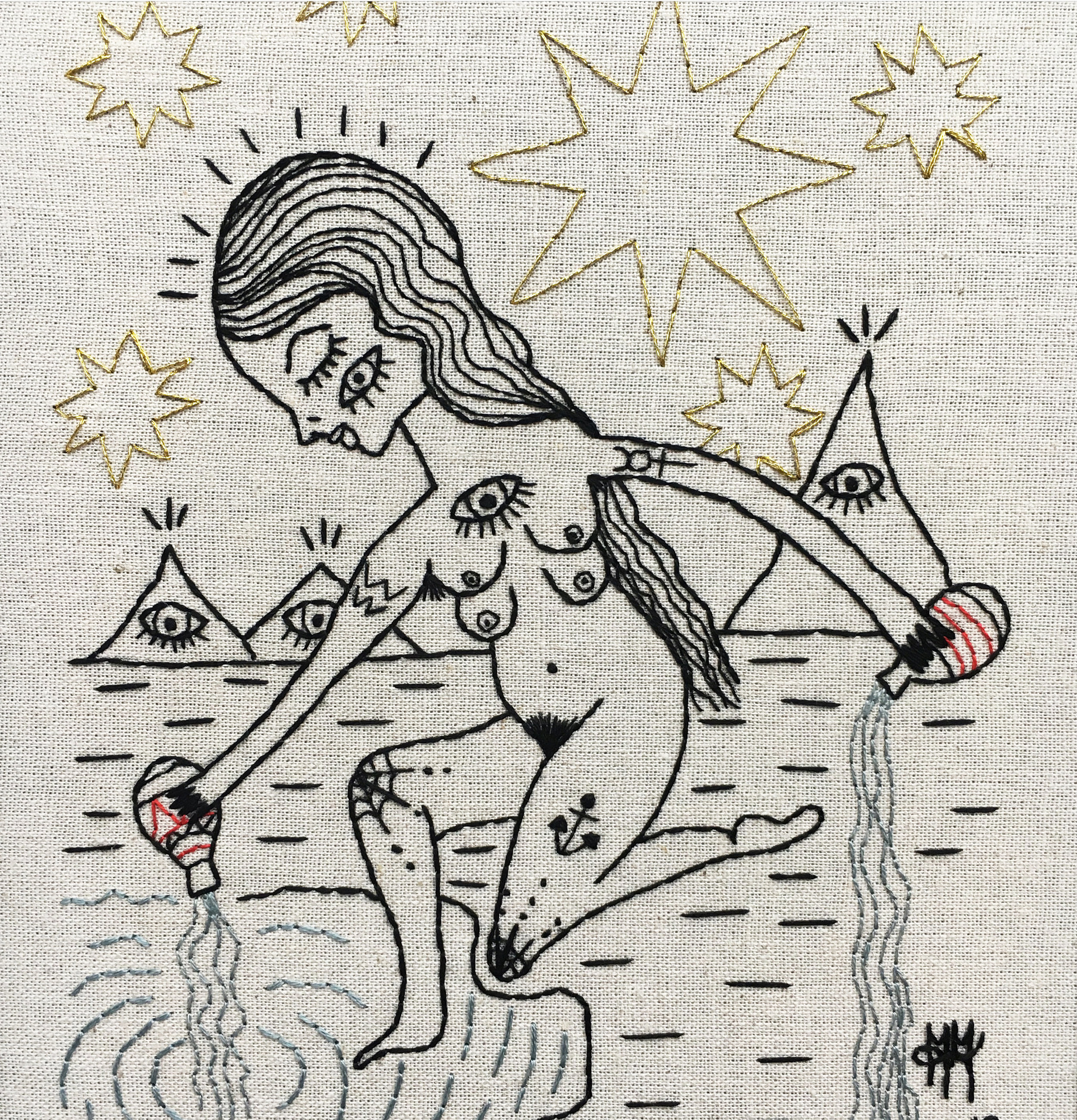 'Of The Tarot' Embroidery Exhibition