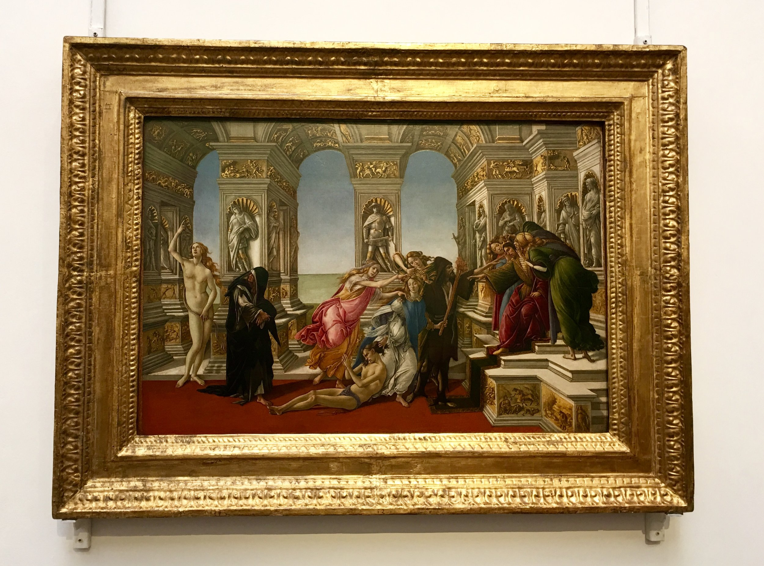 BOTTICELLI - LA CALUMNY OF APELLES