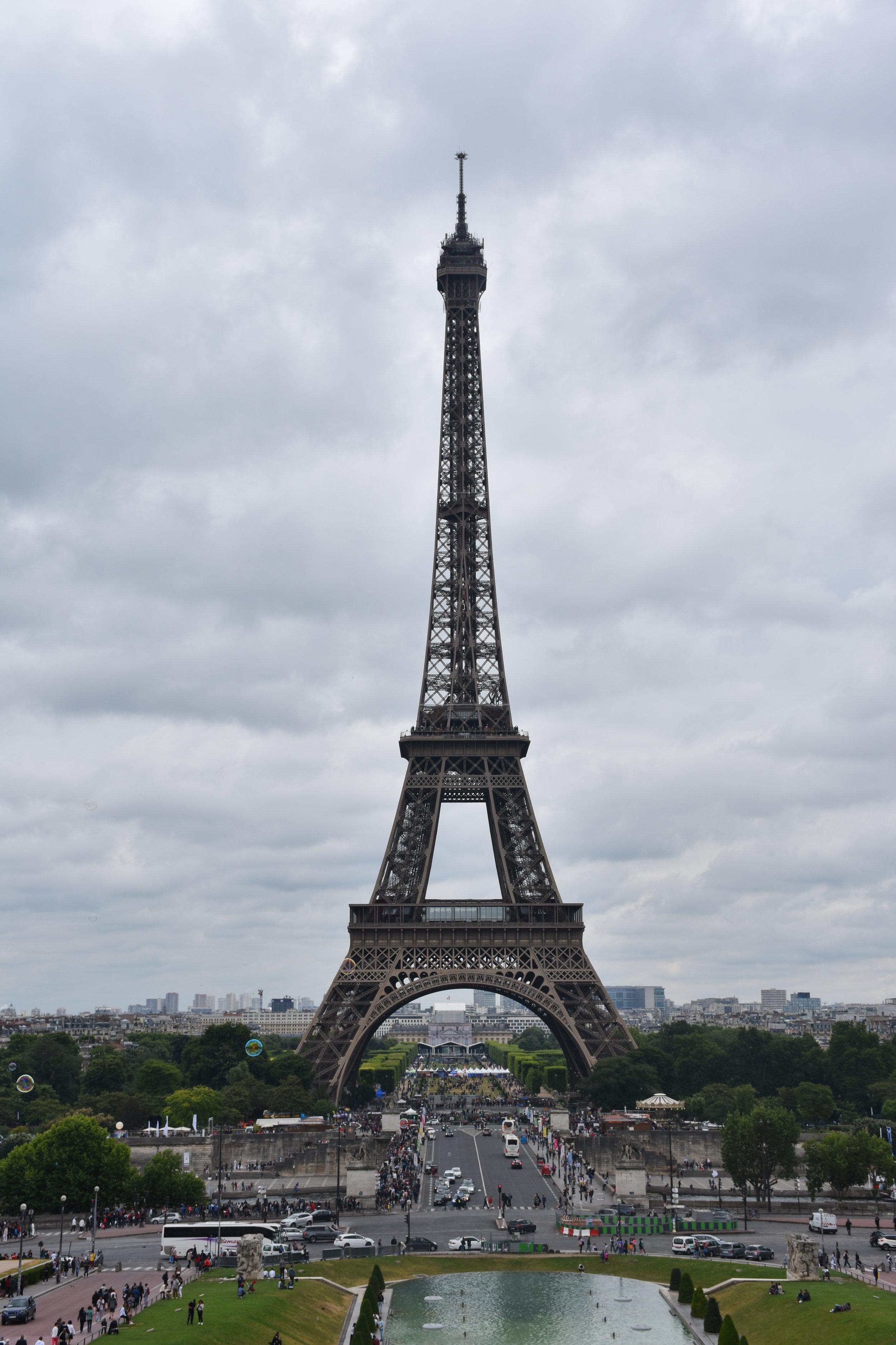 Tour Eiffel view from Trocadero