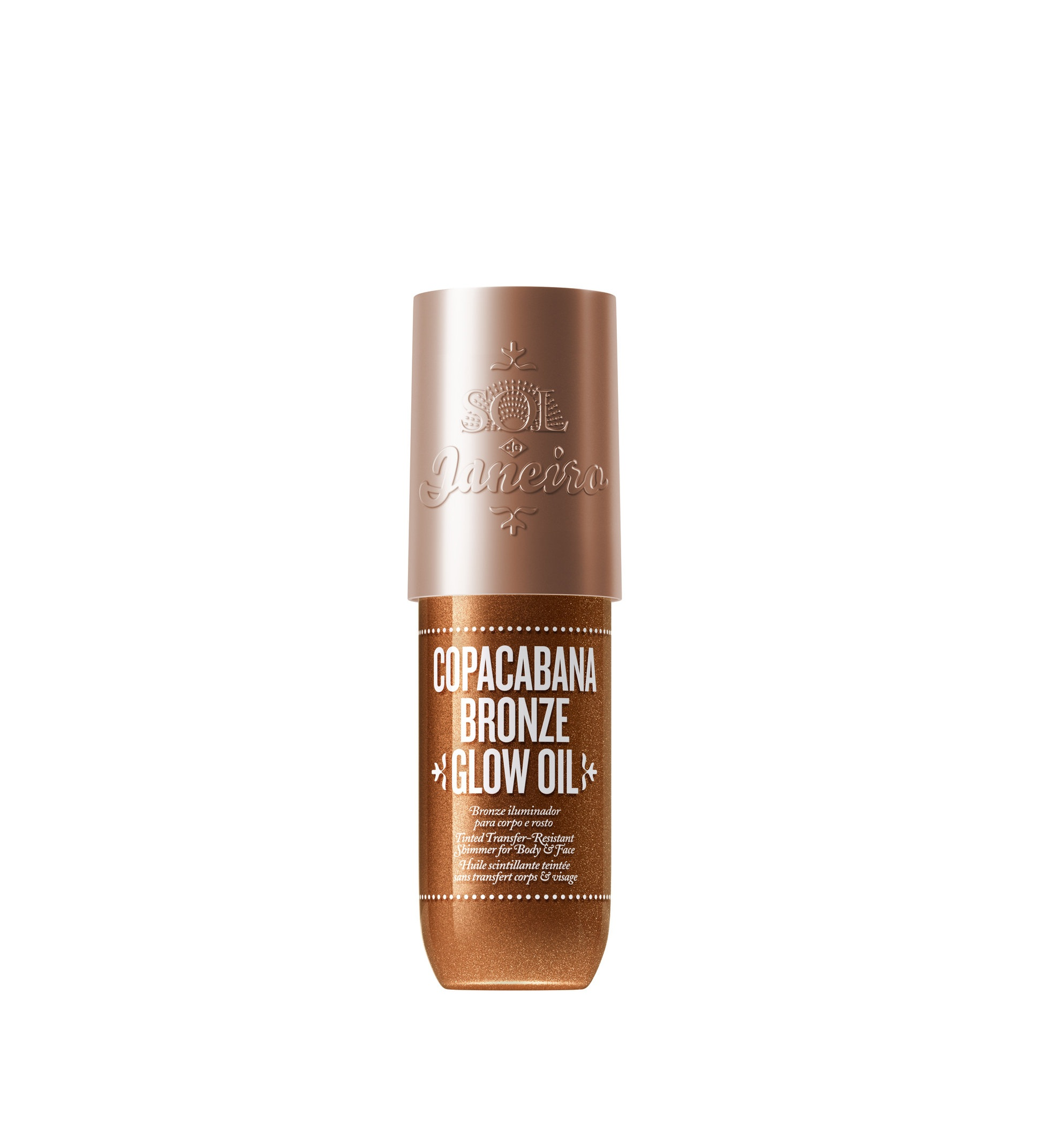 Copacabana Bronze Glow Oil, Sol de Janeiro available at    Cult Beauty   , £35