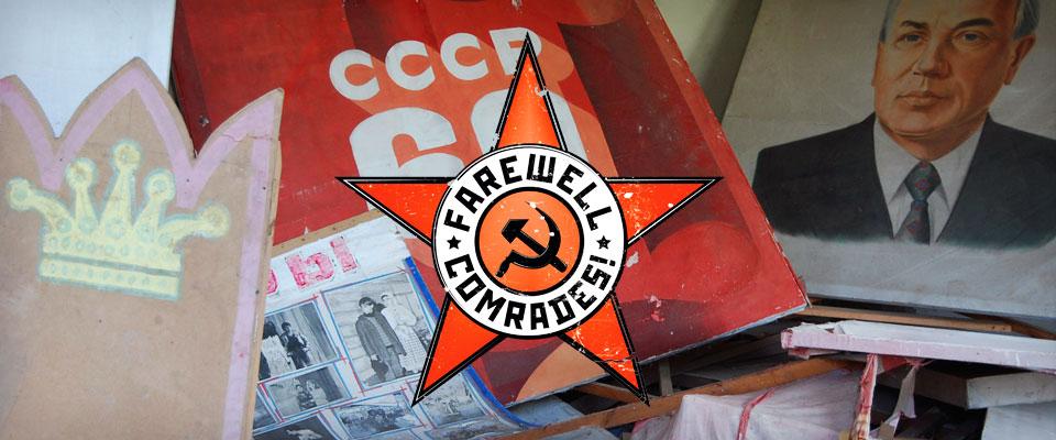 Farewell Comrades  colorist / vfx   Feature documentary director: Andrei Nekrasov gebrueder beetz filmproduktion / 2011