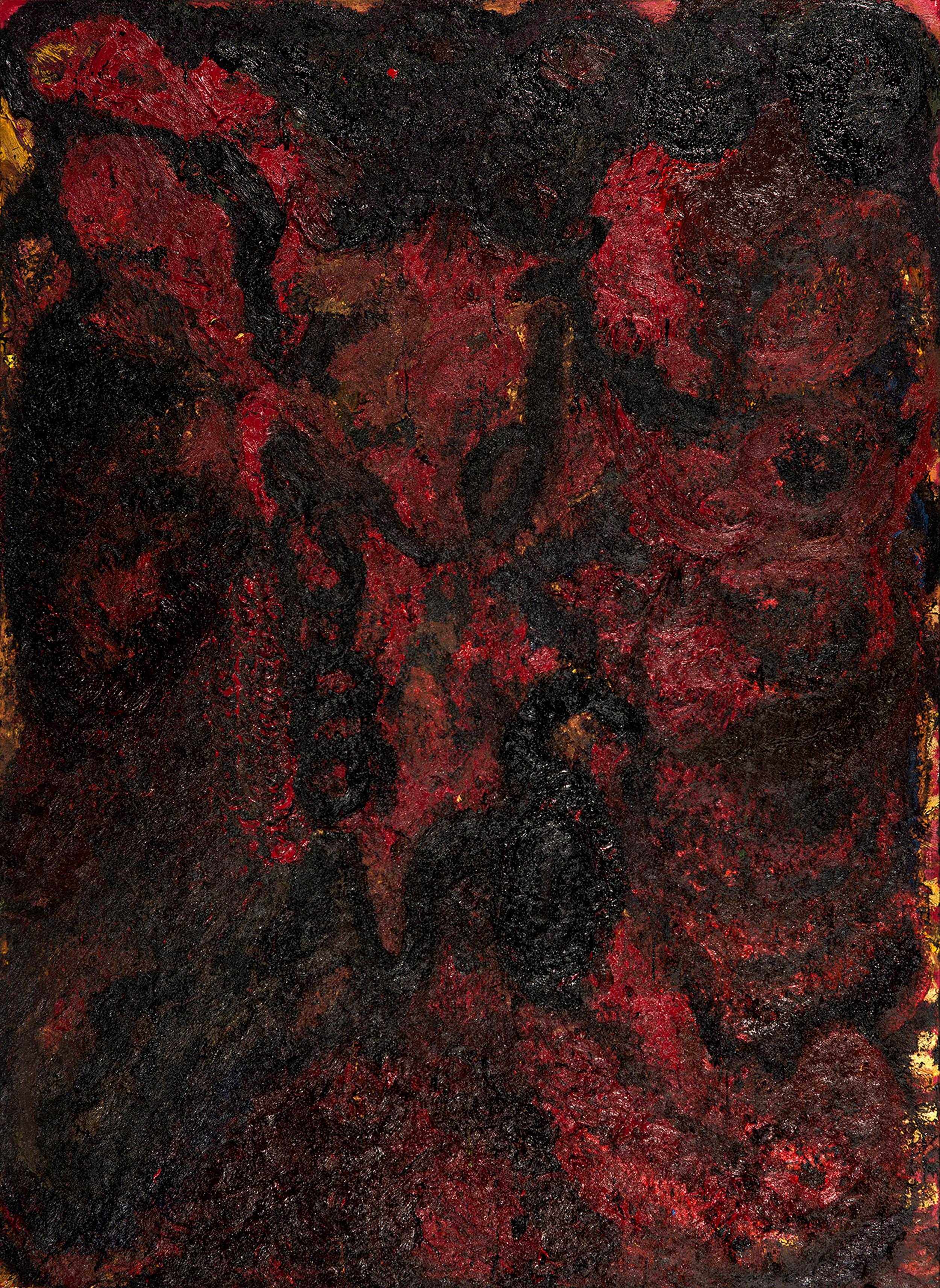 Vortex, 2015 Mixed media 280 x 210 cm