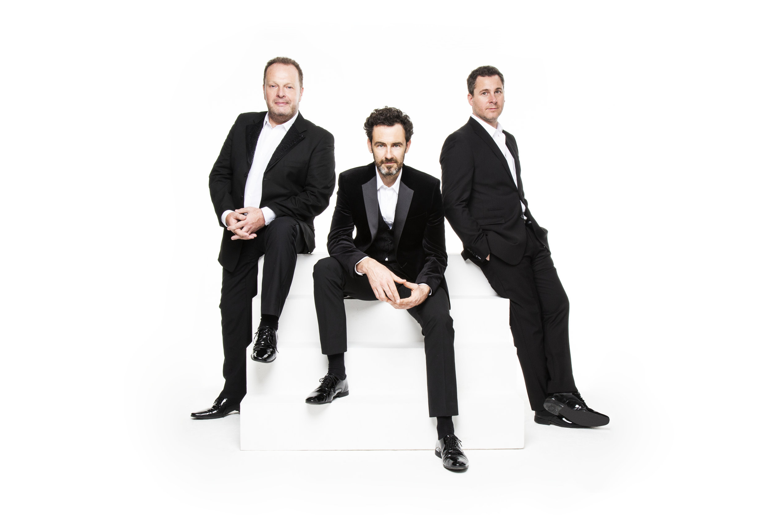 The Celtic Tenors celebrate their 20th Anniversary Tour